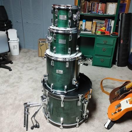 Photo Pearl MX 1988 Series Pro Master Drum Kit - $775 (Jasper GA)