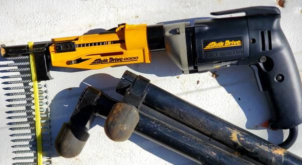 Photo Quik-Drive screw gun set - $300 (Blue Ridge)