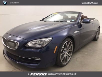 Photo Used 2012 BMW 650i Convertible for sale