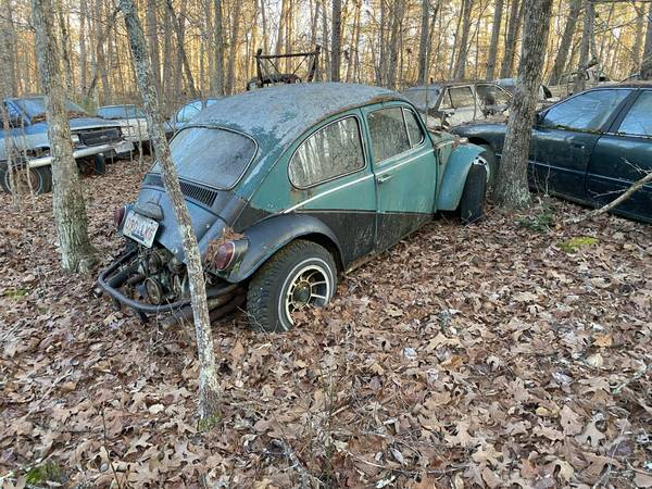 Photo VW Beetle Baja Bug Street Bug project - $1,200 (Blue Ridge)