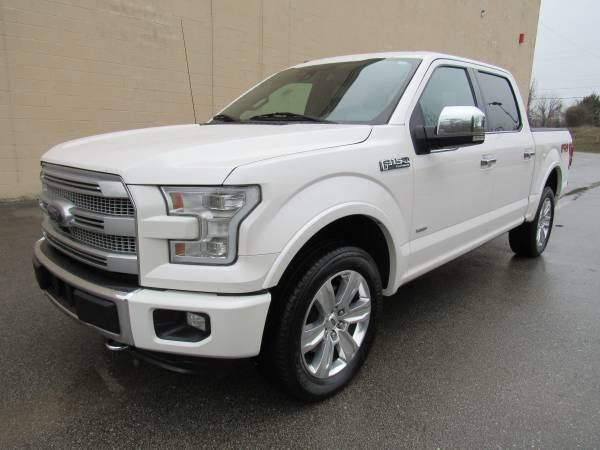 Photo 2015 FORD F150 PLATINUM  SUPER CREW  4X4  1 OWNER  LOADED  - $26995 (NO DOC FEES)