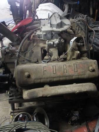 Photo 1958 Ford 292 v8 Motor 2 brl - $1,200 (Augusta)