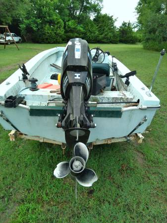 Photo Boat for trade for 5x8 trailer - $700 (Silverdale kansas)