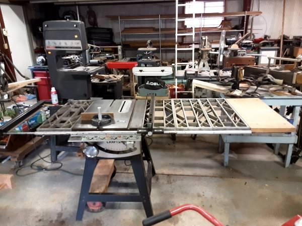 Photo Delta  Craftsman table Saws - $1 (Oxford, Ks)