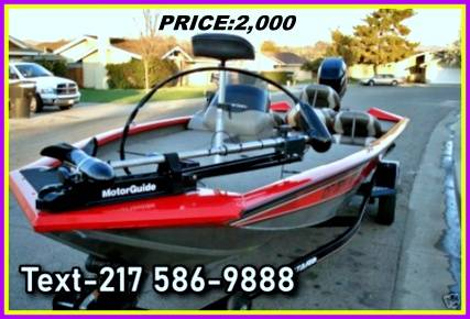 Photo Excellent Bass Tracker Pro Team 185 Special Edition Bass Boat Very OUW (northwest KS)