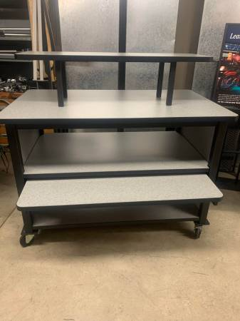 Photo Harley-Davidson quotFquot Display Table - $700 (Hays, Kansas)