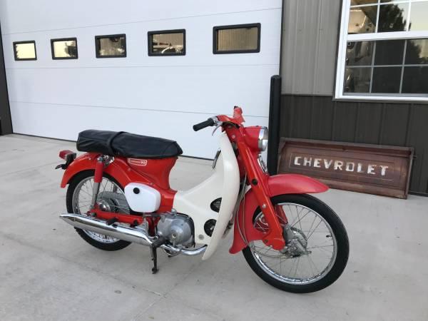 Photo Honda Motorcycle -Rare Cub 90 CM91 only 708 miles - $2,250 (Hays Ks)