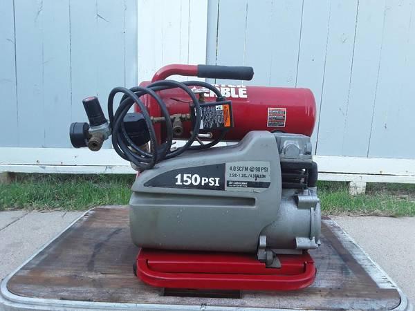 Photo Porter Cable Air Compressor - $160 (Wichita)