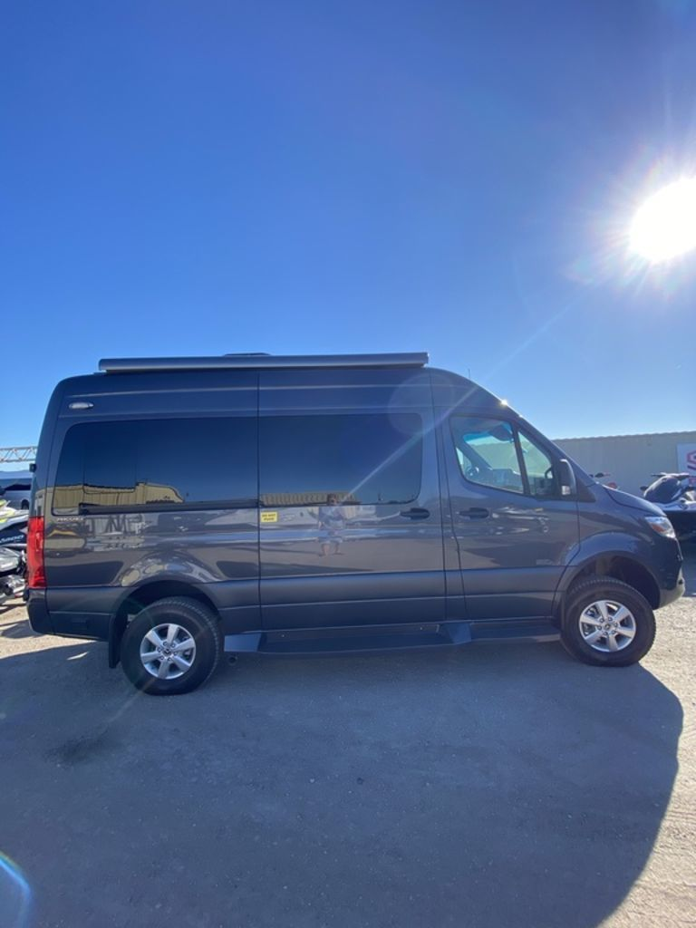 Photo 2021 Midwest Automotive Designs RV Vans 4x4 Passage 144 SLEEPS power drop bed with loun $161999