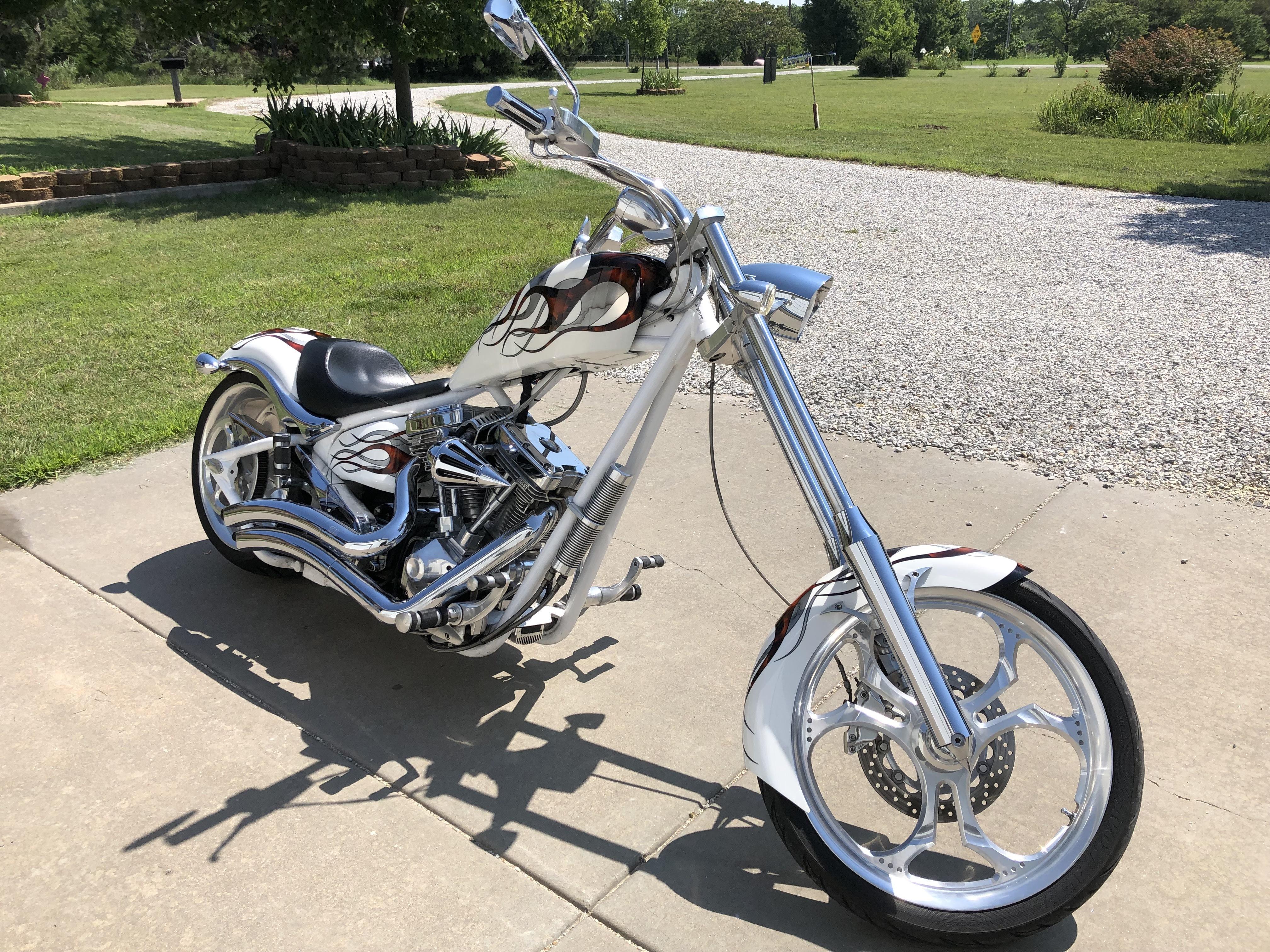 Photo Used 2008 Big Dog Motorcycles Custom Motorcycle  $25000