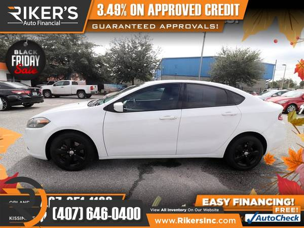 Photo $126mo - 2015 Dodge Dart SXT - 100 Approved - $126 (Rikers Auto Financial)