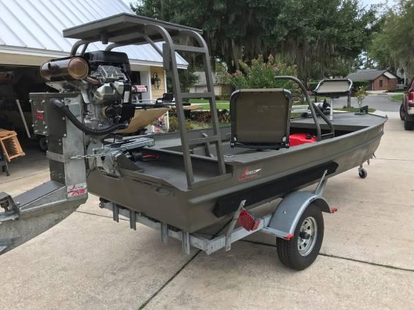 Photo 1654 Go Devil Open Plan Mud Boat - $20,500 (crystal river)