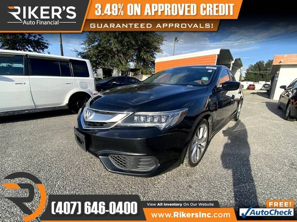 Photo $172mo - 2017 Acura ILX Base - 100 Approved - $172 (Rikers Auto Financial)
