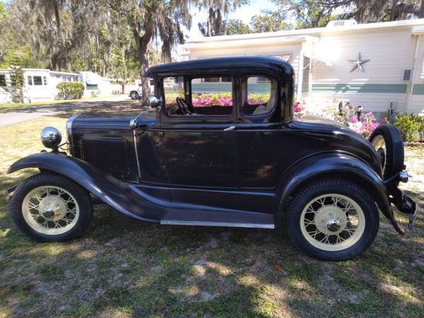 Photo 1930 ford model a coupe original - $11,500 (Leesburg)