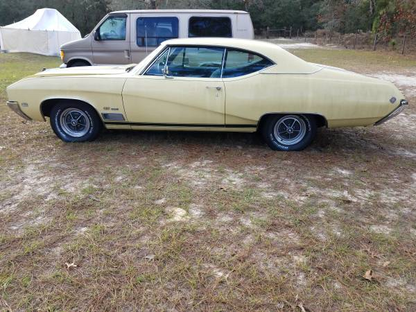 Photo 1968 Buick GS 350 - $24,000 (DUNNELLON)