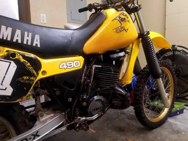 Photo 1982 Yamaha YZ490 - $1900 (Dunnellon)
