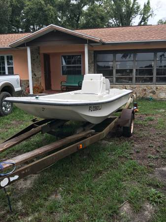 Photo 1997 15 Carolina Skiff For Sale - $5000 (Ocala)