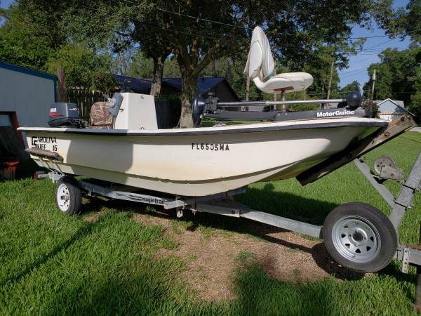 Photo 2000 J16 Carolina Skiff - $5,000 (Ocala)