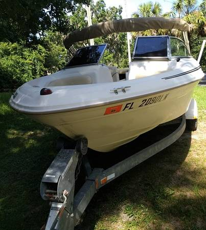 2000 Sea Ray Bowrider 180 - $5800 (Clermont area)   Boats ...