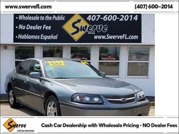 Photo 2004 Chevrolet Impala Base - $3,500 (Swerve Auto)