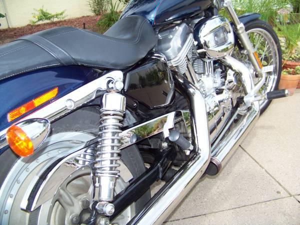 Photo 2004 Harley Davidson 883 Sportster custom - $3,600 (Summerfield , Marion County)
