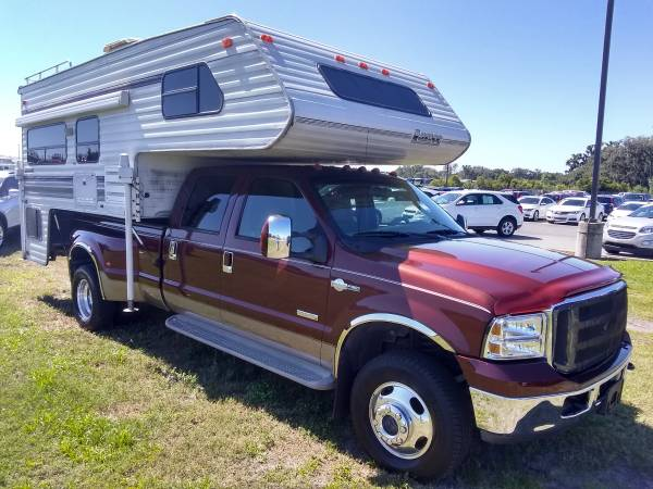 Photo 2006 Ford F350 diesel dually crew 4x4 - $19600 (The villages)
