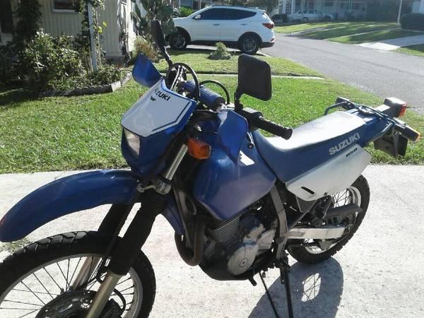 Photo 2006 Suzuki DR 650 - $3,000 (Ocala)