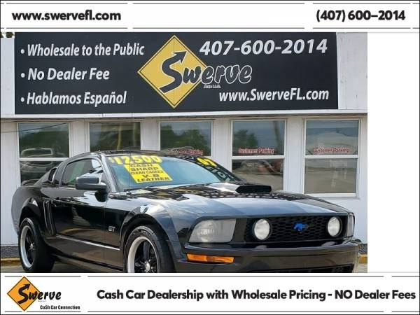Photo 2007 Ford Mustang GT - $12,500 (Swerve Auto)