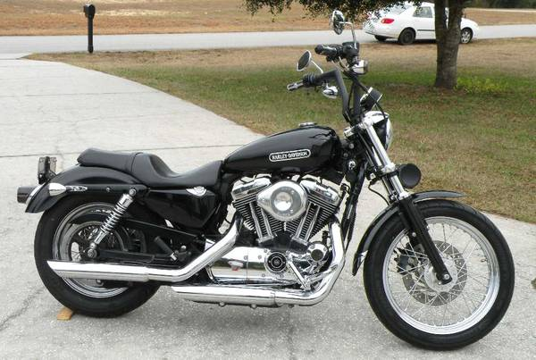 Photo 2007 Harley Davidson Sportster XL 1200 Fuel Injected Low - $5,250 (Hernando)