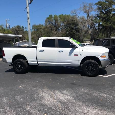 Photo 2010 DODGE RAM 2500 DIESEL 4X4 CREW CAB, CUMMINS DIESEL, COLD AIR - $17888 (BUSHNELL, FL)