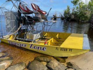 Photo 2014 12 ft Step hull airboat (Paisley, Fl)