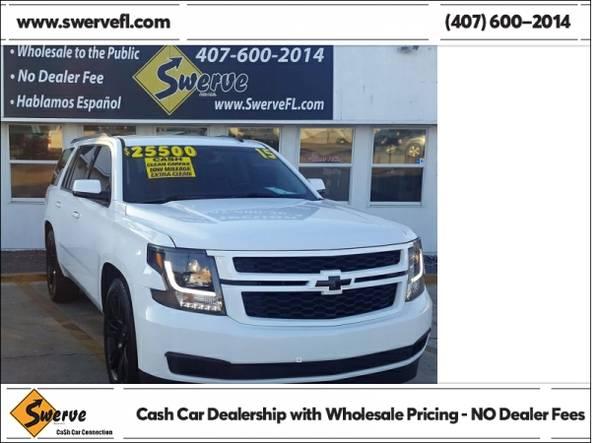Photo 2015 Chevrolet Tahoe LT - $25500 (Swerve Auto)