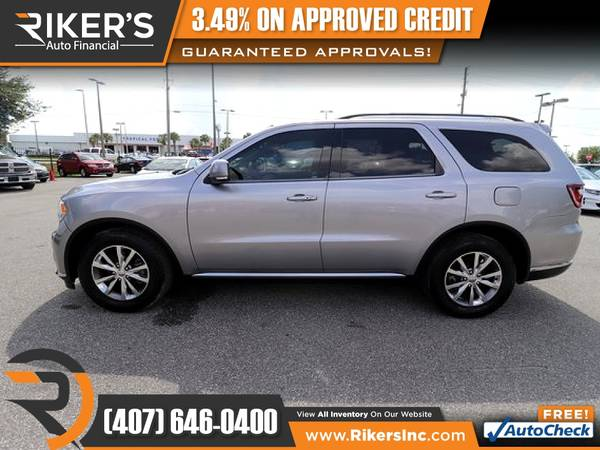 Photo 2015 Dodge Durango Limited FOR ONLY $229mo - $229 (Rikers Auto Financial)