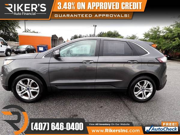 Photo 2015 Ford Edge Titanium FOR ONLY $229mo - $229 (Rikers Auto Financial)