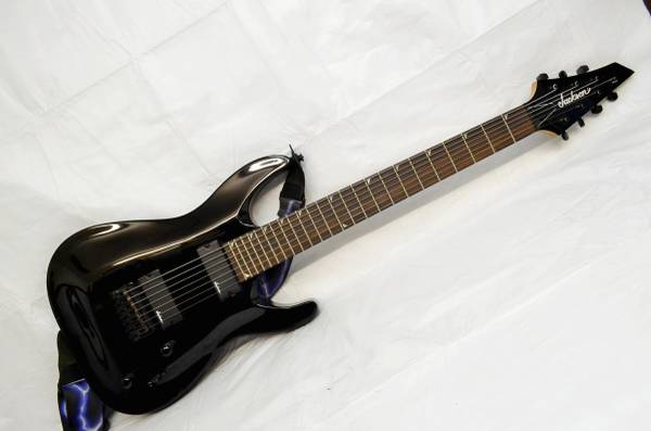 Photo 2017 JACKSON SOLOIST 7 STING ELECTRIC GUITAR - $299 (Silver Spring)