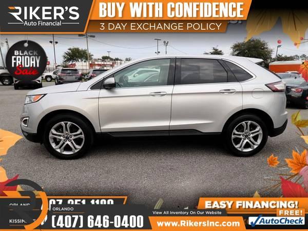 Photo $259mo - 2018 Ford Edge Titanium - 100 Approved - $259 (7202 E Colonial Dr, Orlando FL, 32807)
