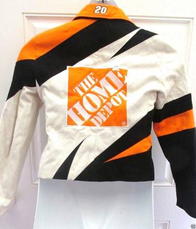 Photo 2 HOME DEPOT TONY STEWART WOMENS JACKET LARGE,MEDIUM IN MINT CONDITION - $100 (OCALA)