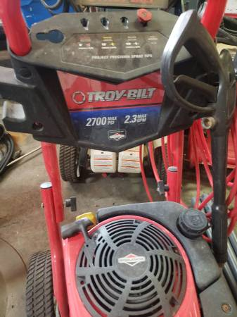 Photo 2 Troy-Bilt pressure washers for parts - $125 (Ocala)