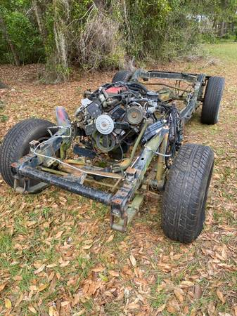 Photo 94 Jeep Wrangler rolling chassis - $700 (Dunnellon)