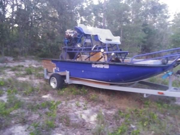 Photo Air boat - $2,500 (Interlachen)
