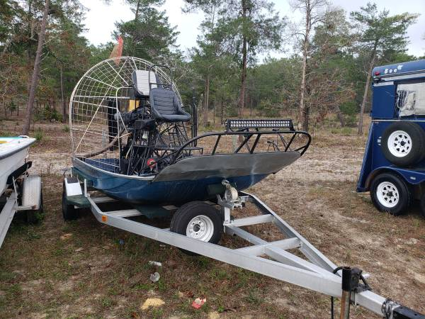 Photo Airboat - $6500 (Dunnellon)