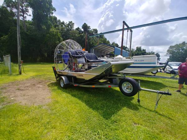 Photo Alum Airboat (new) - $25500 (Crystal River)