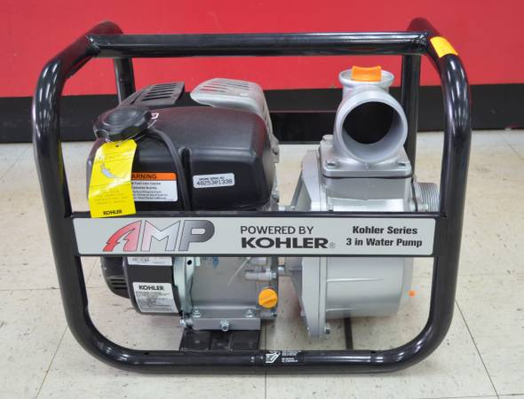 Photo BRAND NEW AMP KOHLER 3 INCH SEMI-TRASH WATER PUMP 6.5 HP 10,550 GPH 2 - $720 (Silver Springs)