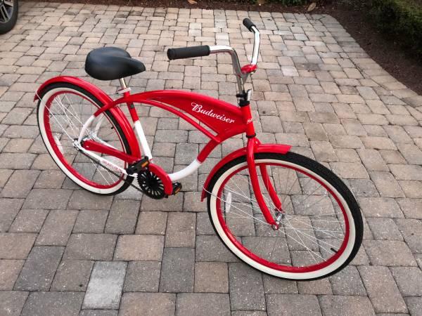 Budweiser Beach Cruiser Bicycle