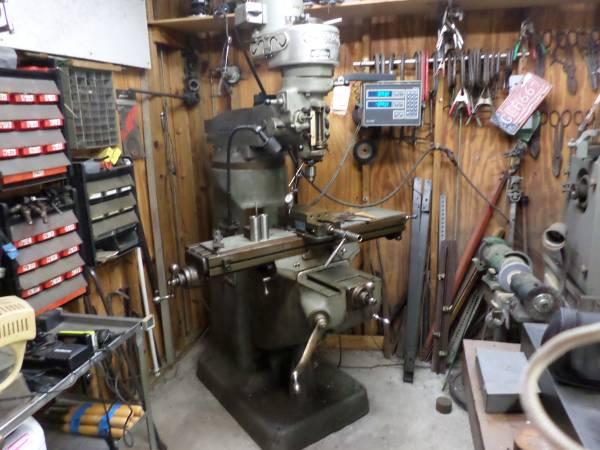 Photo Bridgeport Milling Machine - $3,500 (inverness)