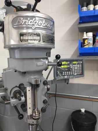 Photo Bridgeport Milling Machine - $3,750 (Ocala)