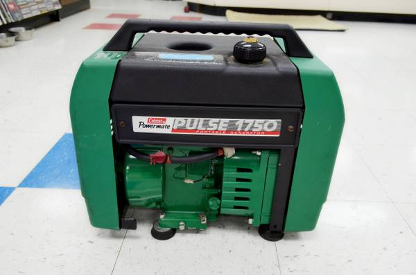 Photo COLEMAN POWERMATE PULSE PLUS 1750 PORTABLE GENERATOR - $350 (SILVER SPRINGS)