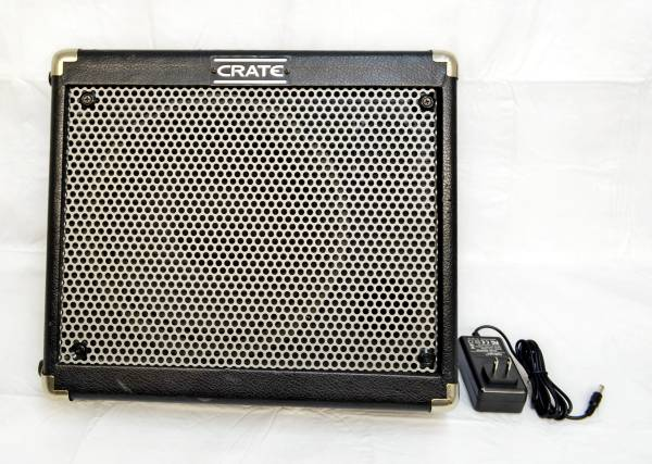 Photo CRATE TX50D LIMO COMBO AMPLIFIER 50 WATTS NEW BATTERY AND CHARGER 2 CH - $349 (Silver Springs)