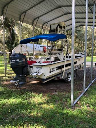 Photo Capt ready 24 Carolina skiff - $15,500 (Levy county)