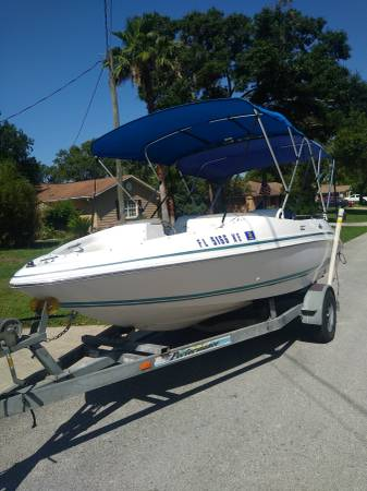 Photo Chris craft ( boat ,motor and trailer) - $14,500 (Spring Hill)